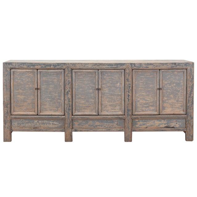 Antique Sarreid LTD Chinese Pine Cabinet - Image 1 of 4