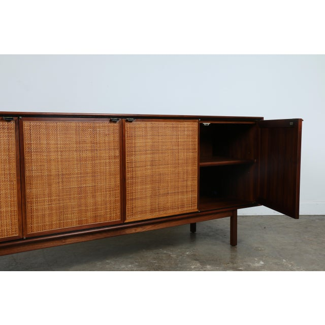 Walnut Cane Credenza by Founders - Image 10 of 11