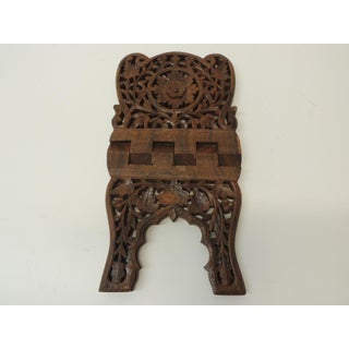 Indian Hand Carved Book Display or Stand Preview