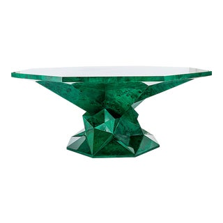 Parametric Design Octagonal Top Dining Table For Sale