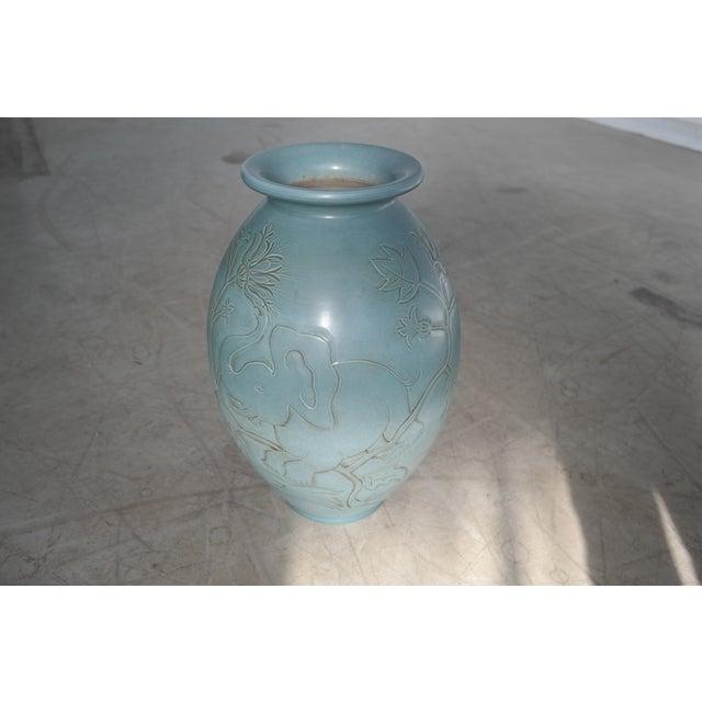 Danish Modern Folmer Gross for Knabstrup Danish Modern Ceramic Vase For Sale - Image 3 of 7