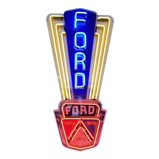 1970s Ford Jubilee Neon Sign For Sale