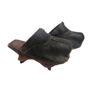 19th Century Asian Field Shoes - A Pair