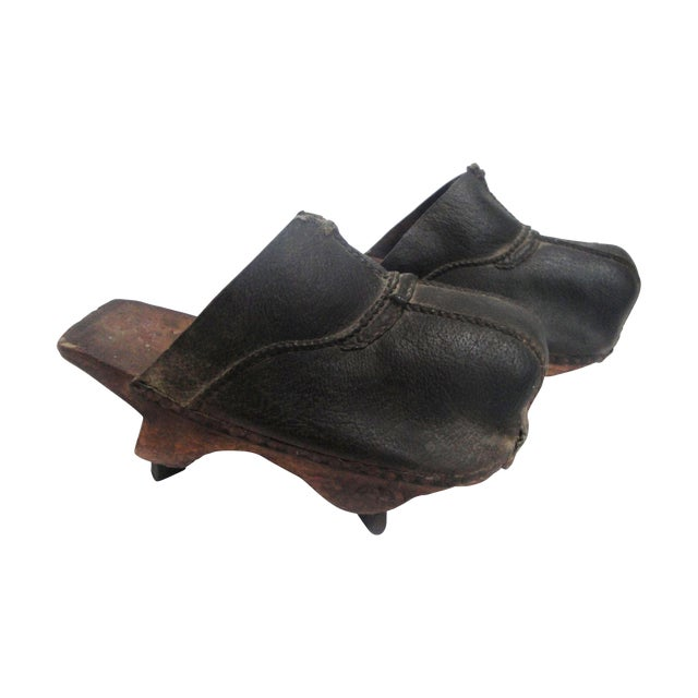 19th Century Asian Field Shoes - A Pair - Image 1 of 3