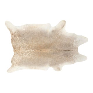 Grey + Light Brown Genuine Brazilian Cowhide For Sale