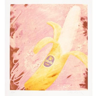 """Mimmo Rotella """"Chiquita"""" Screenprint on Wove Paper Numbered and Signed For Sale"""