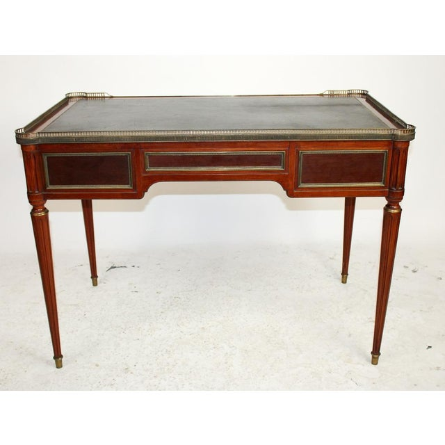 1940s Directoire Style Bureauplat/Desk For Sale - Image 5 of 6