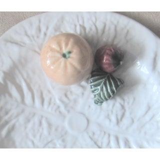 Vintage Majolica Cabbage Trompe l'Oeil Fruit Plate Preview