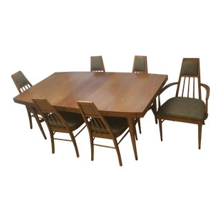 Dining Table and 8 Chairs - Mid Century Modern