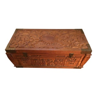 Indian Storage Chest For Sale