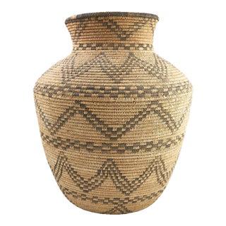 Apache Basketry Olla, circa 1890