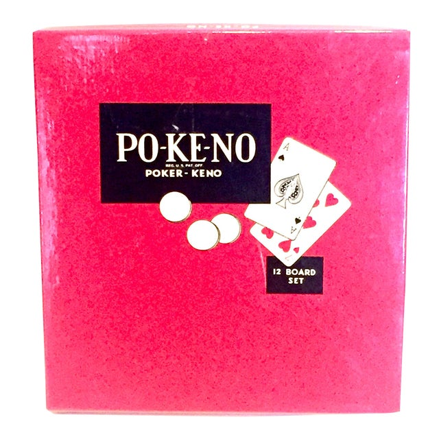 Vintage 1960's Pokeno Game For Sale