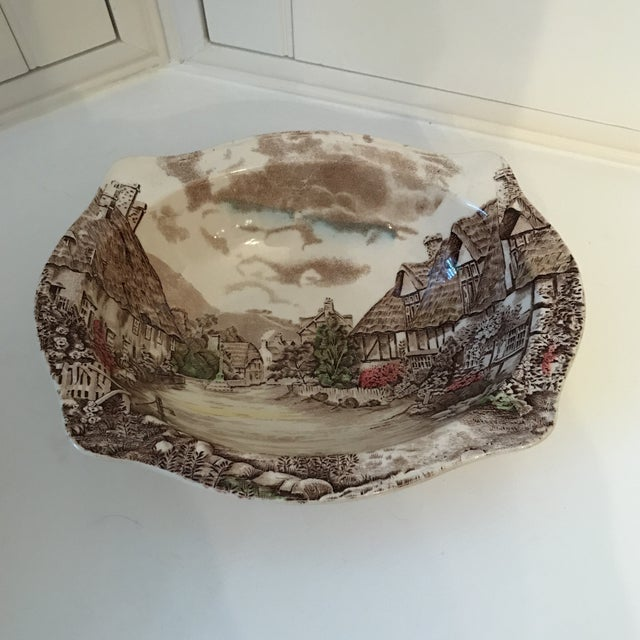Ceramic 1960s Vintage Johnson Bros Olde English Countryside Serving Set - 17 Pieces For Sale - Image 7 of 13