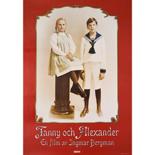 Fanny and Alexander 1982 Swedish B1 Film Poster For Sale