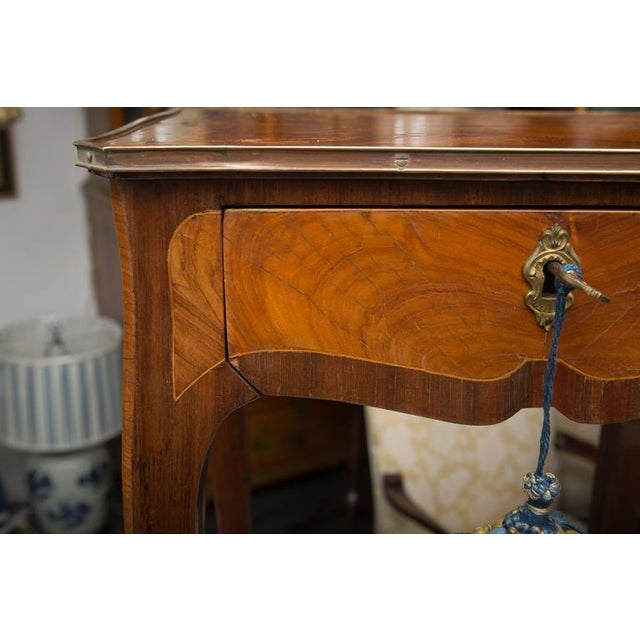 Brown 19th Century Louis XV Style Side Table For Sale - Image 8 of 8