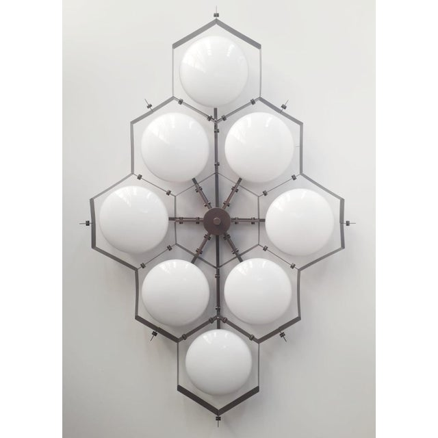 Not Yet Made - Made To Order Beehive Flush Mount by Fabio Ltd For Sale - Image 5 of 11