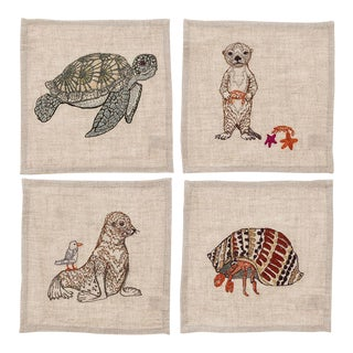 Big Sur Cocktail Napkins - Set of 4