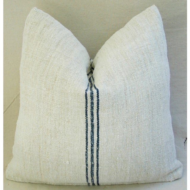 Custom French Grain Sack Down/Feather Pillow - Image 7 of 7