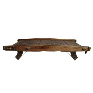 Vintage Ox Cart Coffee Table For Sale