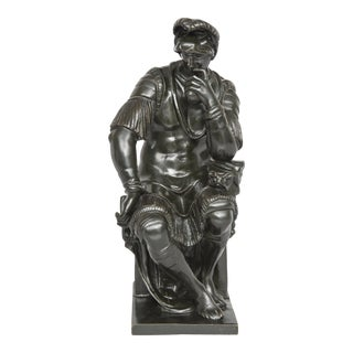 Italian Grand Tour Bronze Figure of De' Medici, Circa 1880 For Sale