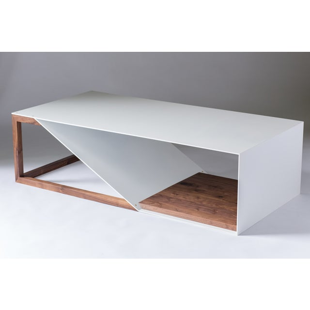 Cortado Coffee Table - Aluminum For Sale In Portland, OR - Image 6 of 6