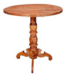 Image of Black Tilt-Top Tables