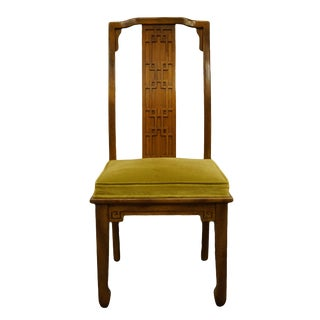 Century Furniture Asian Inspired Chinoiserie Dining Side Chair For Sale