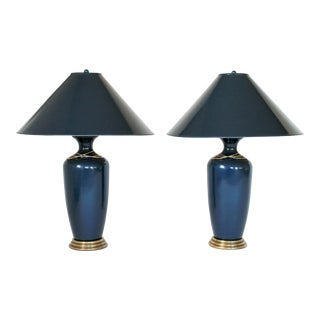 Frederick Cooper Tyndale Lamps - a Pair For Sale