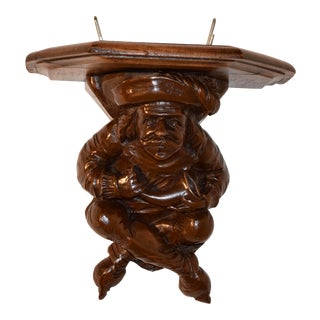 19th Century Hand Carved Bracket Shelf For Sale