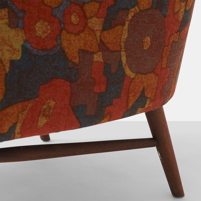 Cotton Lawrence Peabody lounge chairs for Selig - A Pair For Sale - Image 7 of 7