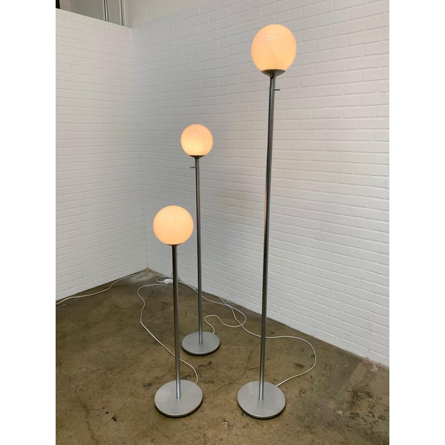 Vintage Globe Floor Lamps by ClassiCon - Set of 3 For Sale - Image 10 of 12