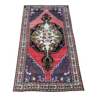 Vintage Turkish Maden Rug - 4′4″ × 7′8″