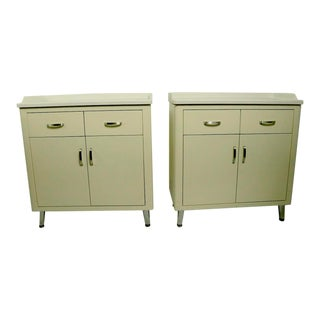 Industrial mMedical Cabinets by Foster For Sale