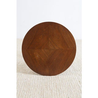 Round Mahogany Side Table or Tabouret Preview