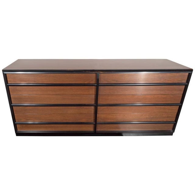 Outstanding Mid-Century Modernist Chest of Drawers by T.H. Robsjohn-Gibbings For Sale - Image 9 of 9