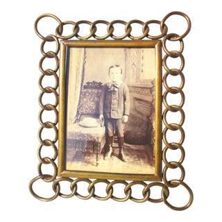 D R G M Antique Photo Frame Circa 1900 For Sale