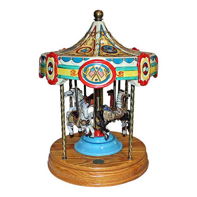 Tabletop Carousel by Fraley - Image 1 of 9