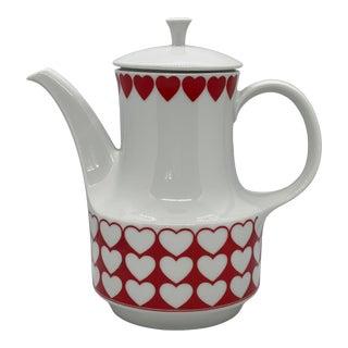 Mid-Century Modern Mitterteich Ceramic Coffee Pot For Sale