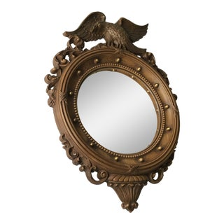 Syroco Federal Eagle Convex Mirror For Sale