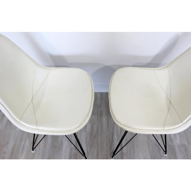 Mid Century Modern Eames Herman Miller Eiffel Tower Dkr Side Chairs 60s - Set of 6 For Sale In Detroit - Image 6 of 11