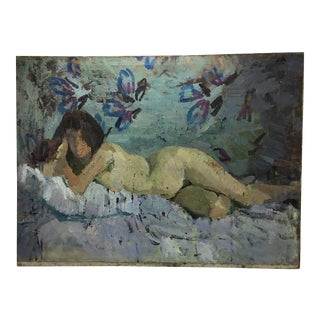 Russian Impressionist Nude, 1965 For Sale