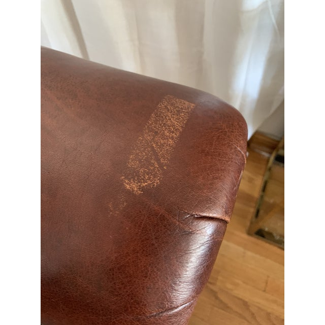 Late 20th Century Ej Victor Leather Sofa For Sale - Image 11 of 13