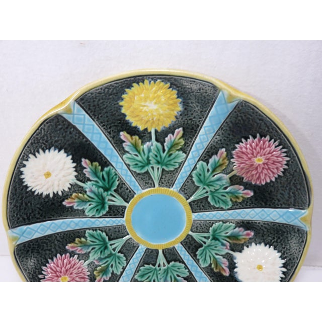 Late 19th Century Antique Wedgwood Majolica Serving Dish Circa 1870s For Sale - Image 5 of 13