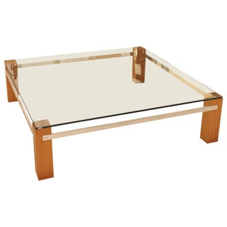 Harvey Probber Square Cocktail Table For Sale
