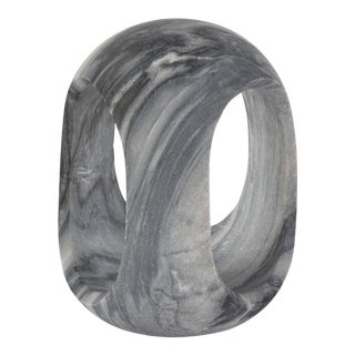 Bruno Marble Sculpture Large in Black For Sale