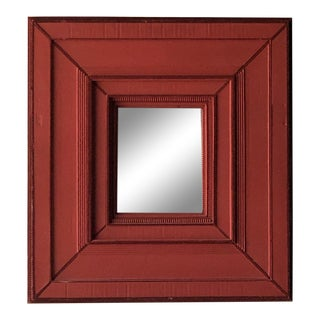 Handmade Cardboard Beveled Mirror For Sale