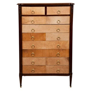 French Art Deco-Style Lingerie Chest