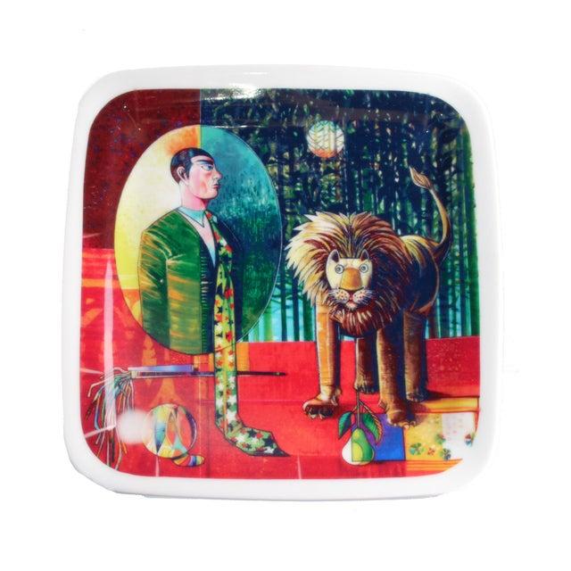 "Luigi Rincicotti Zodiac Plate ""Leo"" - Image 1 of 3"