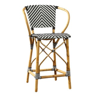 Pearl Counter Stool, Black For Sale