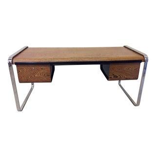 Peter Protzman for Herman Miller Exotic Zebrawood Desk For Sale